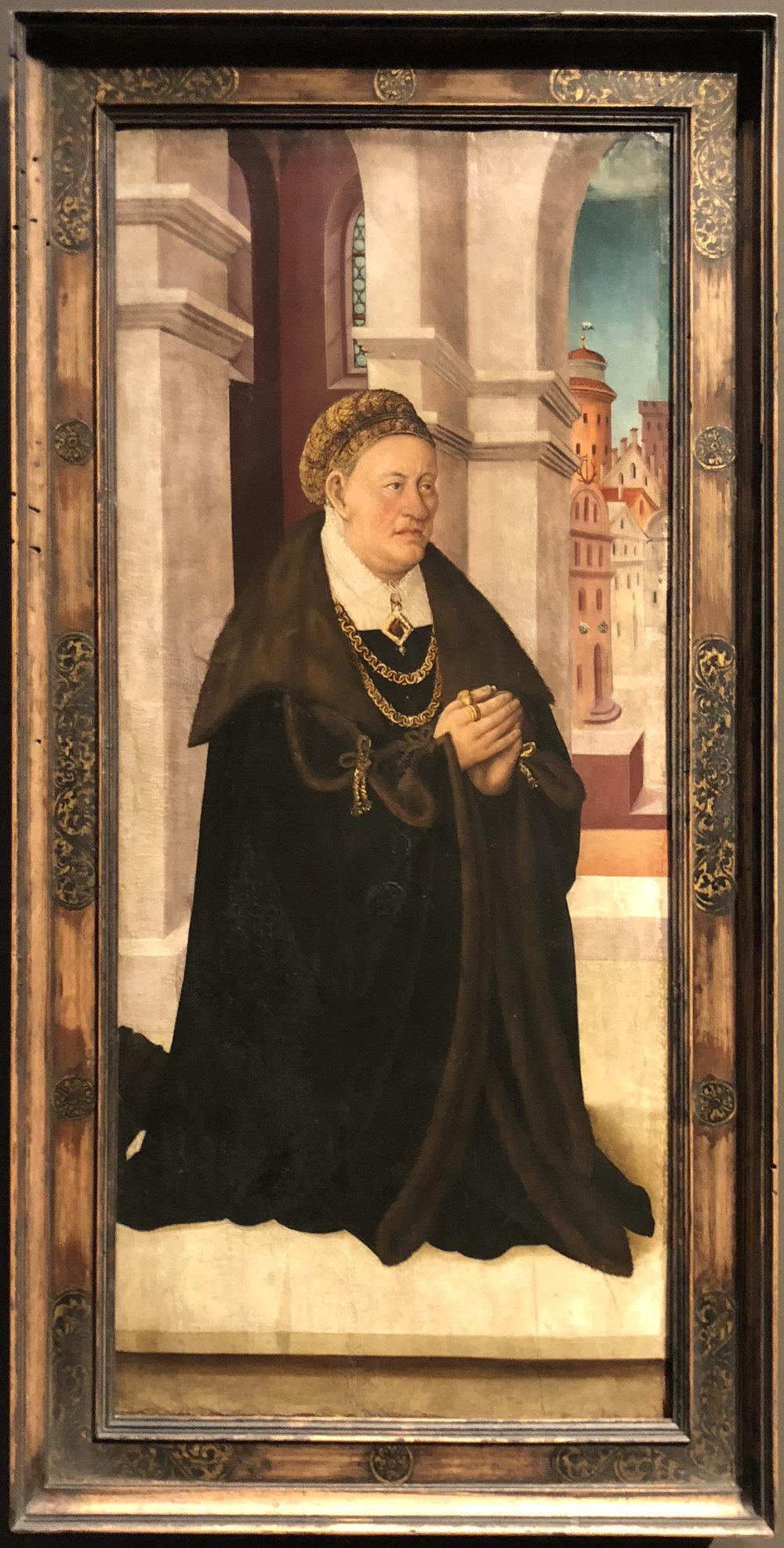 """Рис.11 Мартин Шаффнер """"Людвиг ван Фрейберг"""", 1521/1524"""