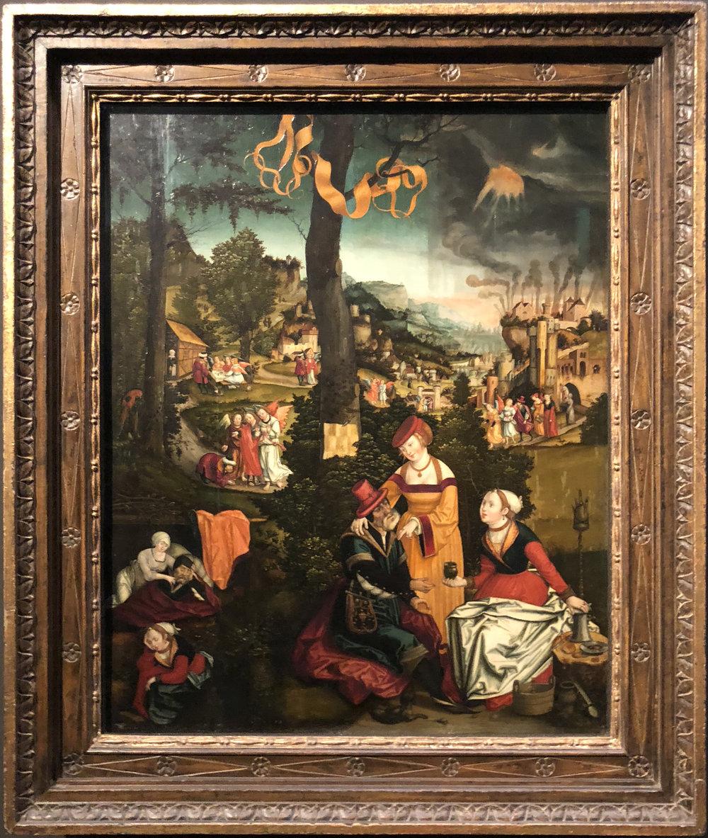 "Рис.25 Матиас Герунг ""История Лота"", 1536"