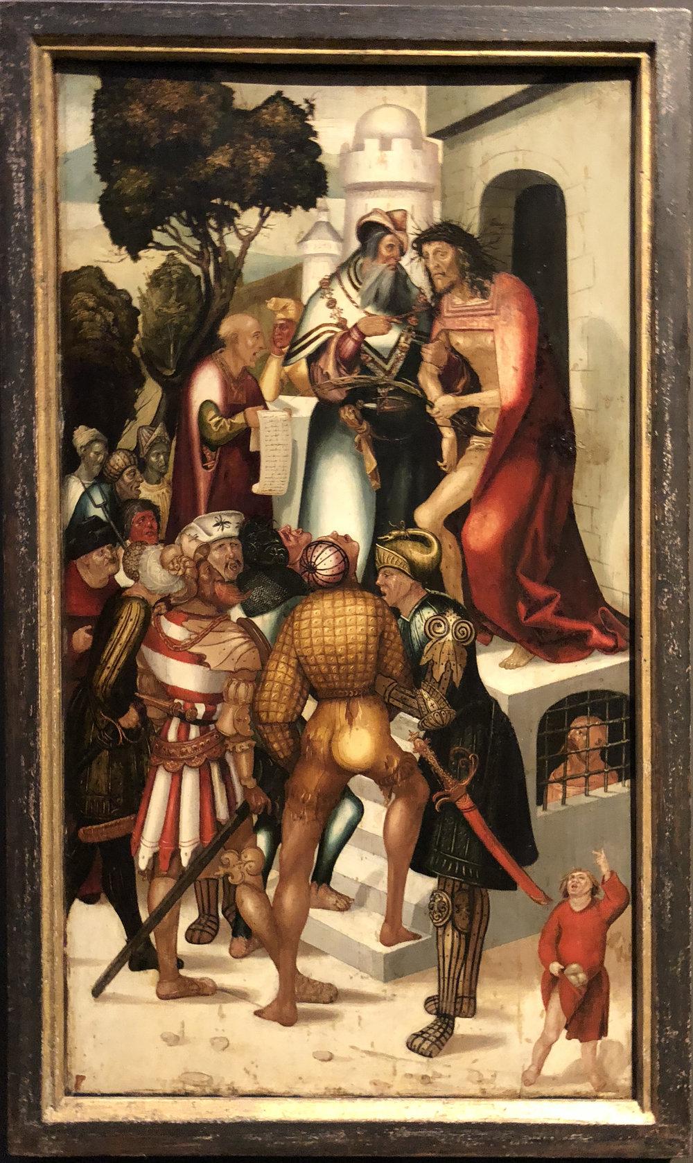 """Рис.26 Йорг Ратгеб """"Се человек"""", 1525"""