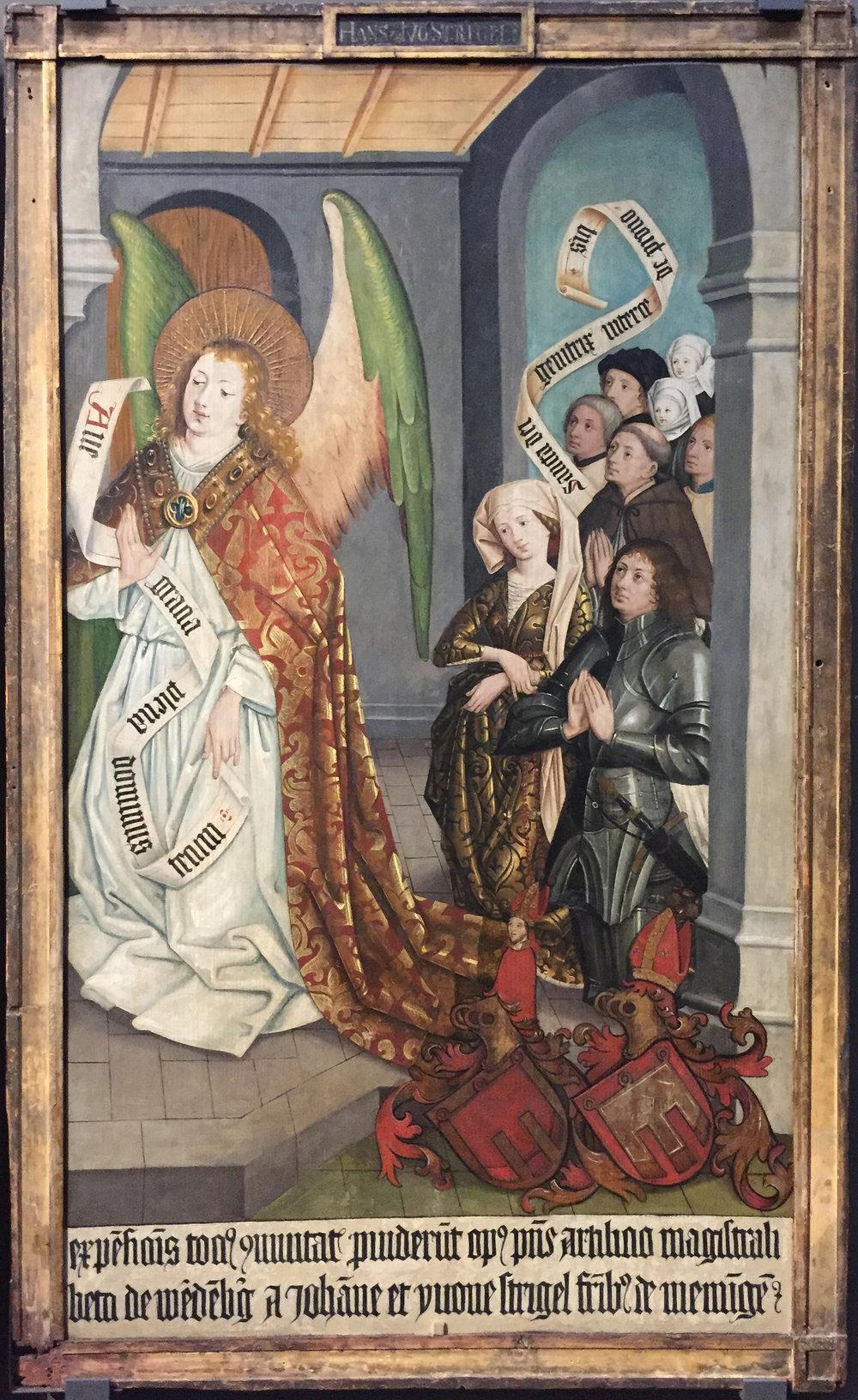 """Рис.4 Ханс Штригель """"Алтарь из Монфорта-Верденберга"""", 1465 г."""