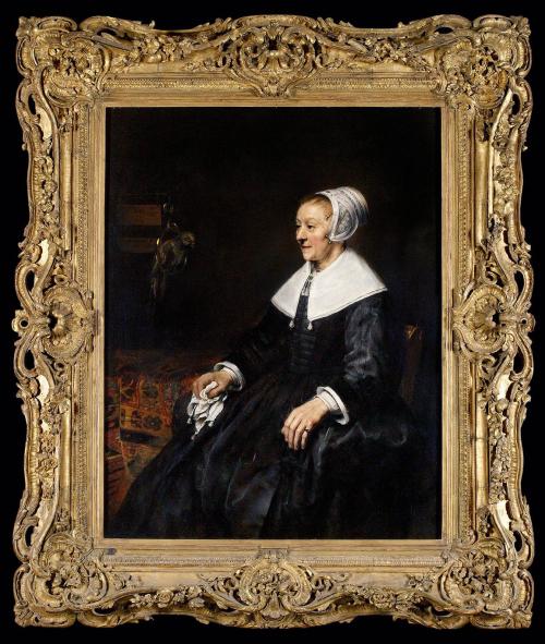 """Рис. 6 Рембрант (1606-69), """"Портрет Катрины Хоогсат"""", 1657"""