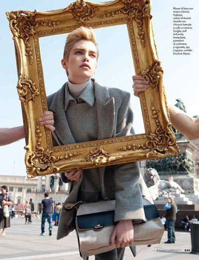 Рис. 7 Фотография Марсело Красилчича для Elle Italia, октябрь 2011 г.