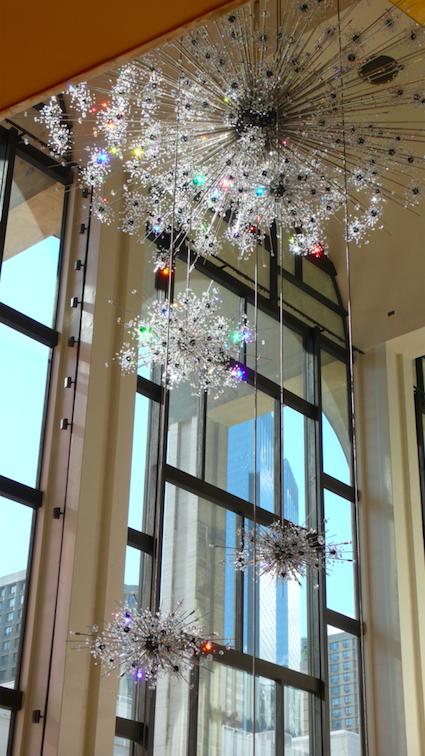MET Foyer. Courtesy of Lobmeyr.