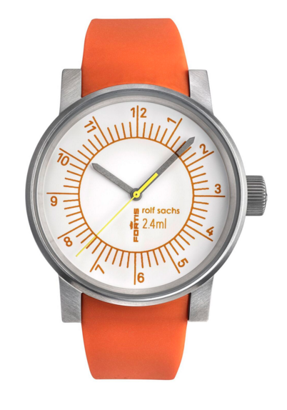 """""""2.4mL"""" Watch designed by Rolf Sachs"""
