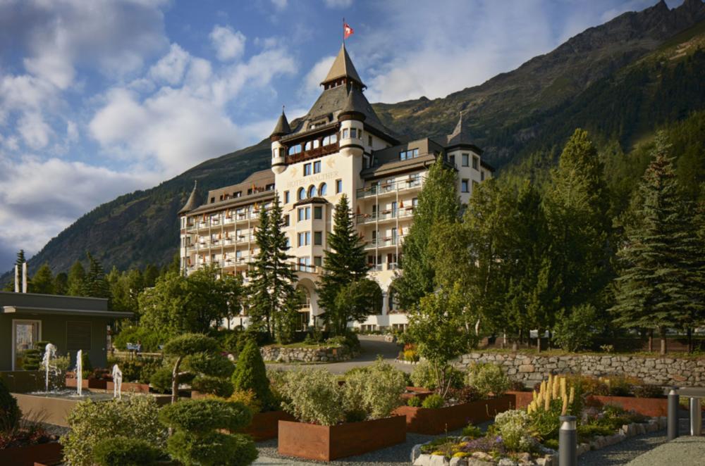 Hotel Walther in Pontresina, Switzerland.