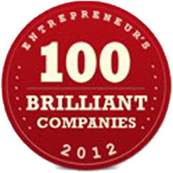 Entrepreneur's 100 Brilliant Companies 2012