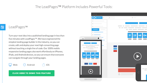 LeadPages Tool