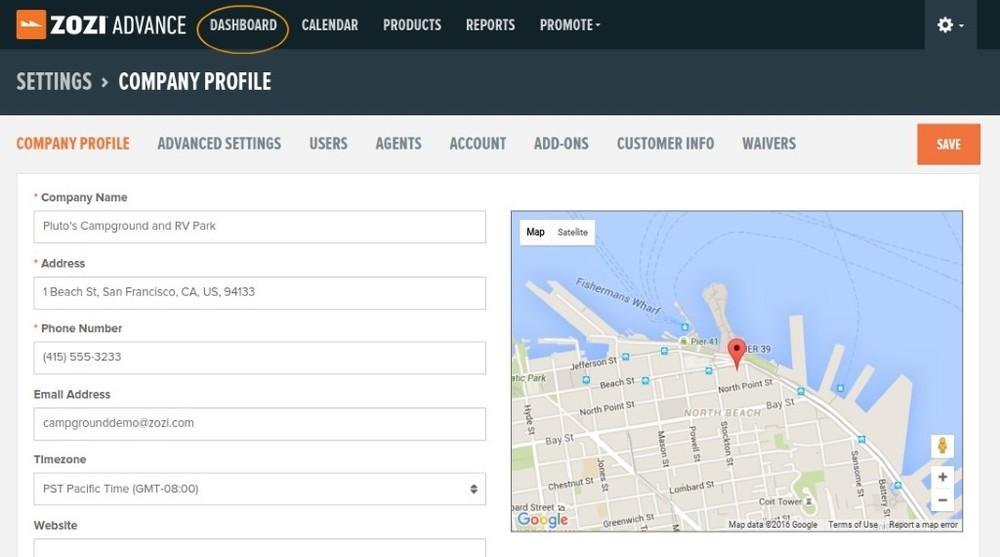setting up ZOZI Advance, Company Profile