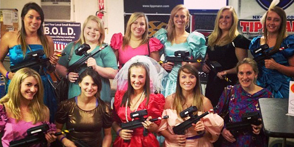 Low-impact paintball can open up your business to new types of customers, such as corporate events or bachelor/bachelorette parties.Photo credit Skyline Paintball.