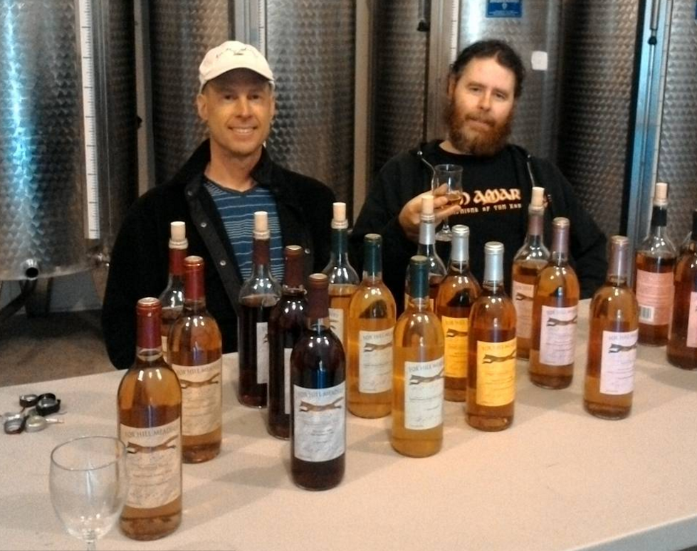 Meading it up with Fox Hill's Head Mazer Jason Russ.