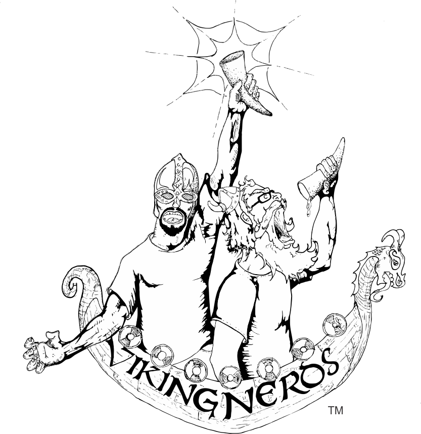 Click the Viking Nerds logo to visit the section of our  YouTube channel  devoted solely to mead and brewing!