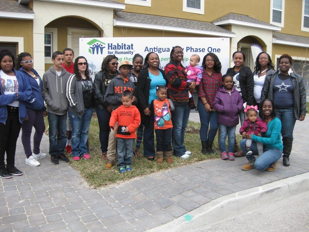 All the new Habitat homebuyers!