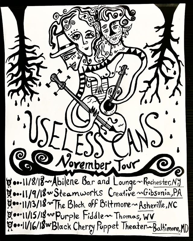 Find us on our spOOoOOoOky November tour!