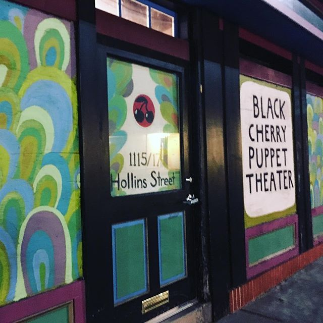 Black Cherry Puppet Theater Ce soir! À 8:00pm