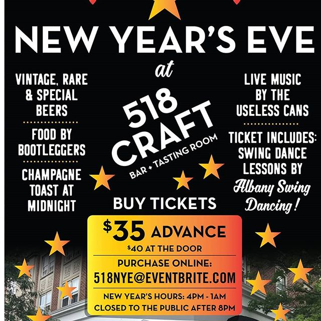 Come swing it one time with us for the arrival of the New Year!
