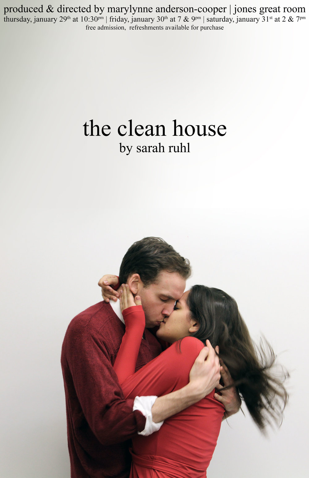 The Clean House  Final Poster Design