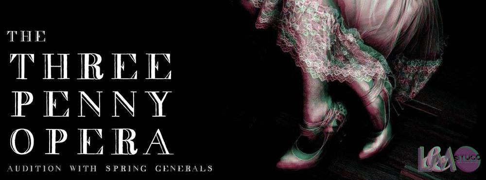 The Threepenny Opera  Facebook Cover Photo