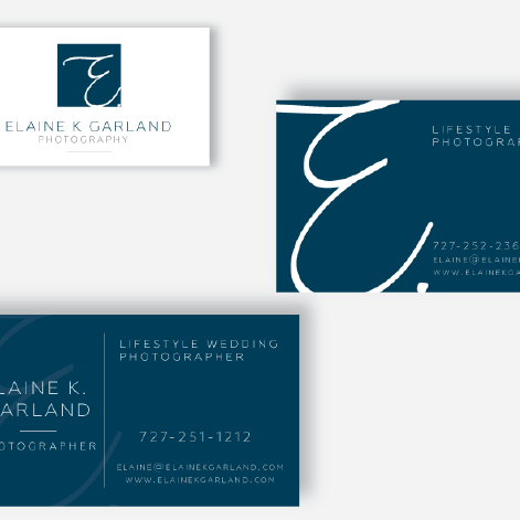 ELAINE K. GARLAND - BRANDING AND PRINT DESIGN