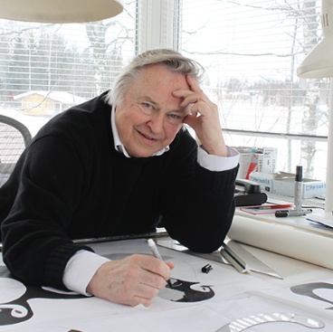 Eero Aarnio. Image from  designmuseum.fi