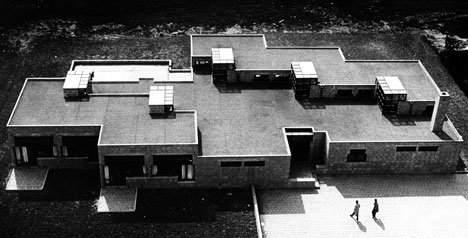 Montessori School, Delft (1960-66), Herman Hertzberger. Photo by Johan van der Keuken, Courtesy Dezeen