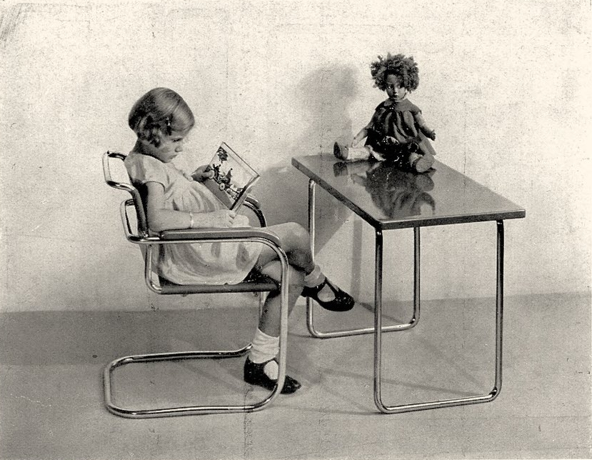 Thonet tubular steel catalog. Photo from the  Marcel Breuer Digital Archives .