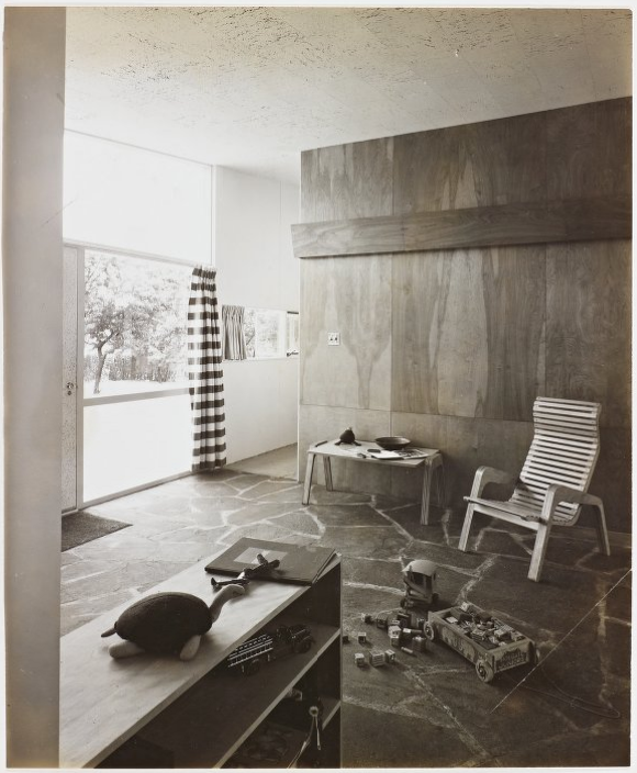 Children's playroom, designed by Marcel Breuer. Photo from the Marcel Breuer Digital Archives.