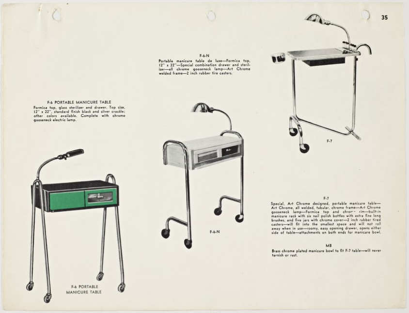 Tubular steel catalog, 1939. Photo from the Marcel Breuer Digital Archives.