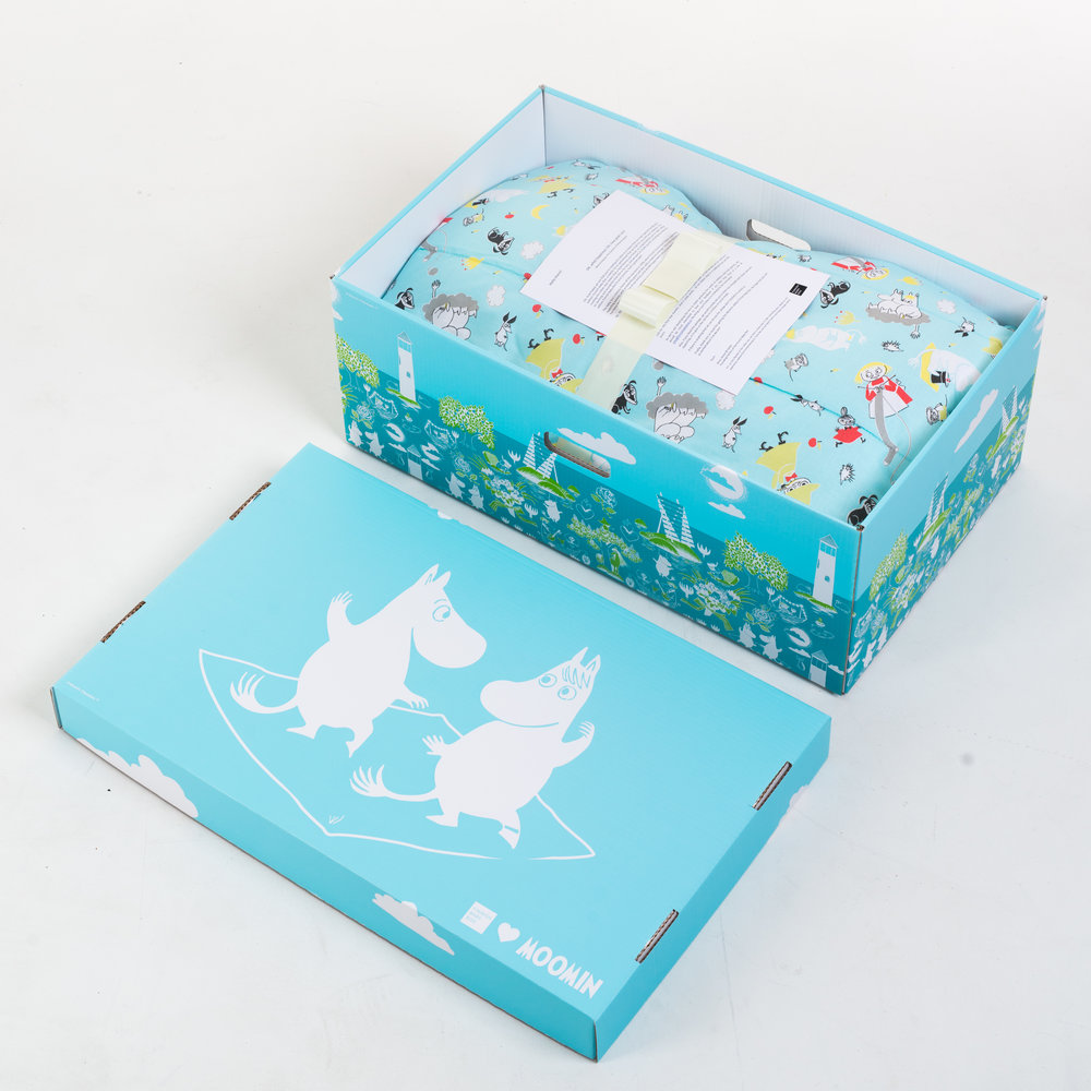 A Finish baby box. Photo courtesy of Finnish Baby Box.
