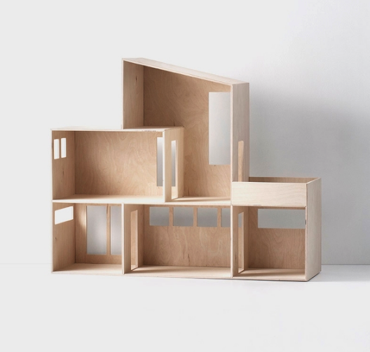 Ferm Living's Miniature Funkis House. Photo via fermliving.com