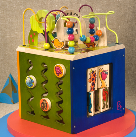 B. Toy's Zany Zoo. Photo via mybtoys.com.