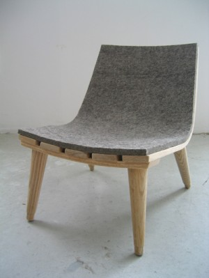 The Child's Felt Chair by John Booth. Photo via bookhou.com.