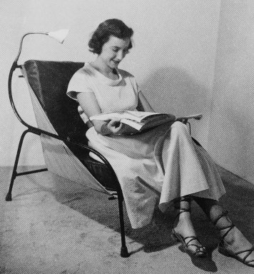 Lounge chair. Photo via  innerdesign.com .
