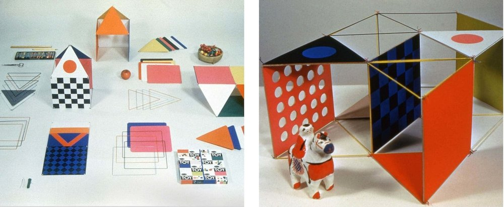 The Little Toy by Ray and Charles Eames, 1952. Photo via hermanmiller.com.