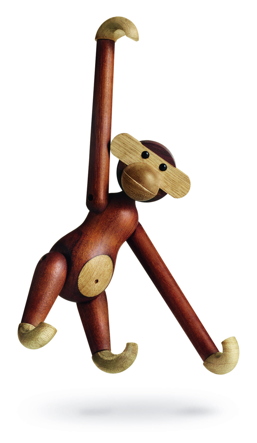 Wooden Monkey toy figurine by Kay Bojesen.   Photo courtesy of    vam.ac.uk