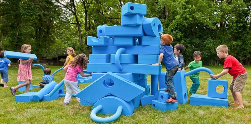 Imagination Playground by the Rockwell Group. Photo via  imaginationplayground.com