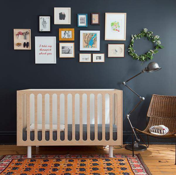 Fawn 2-in-1 Crib System by Oeuf. Photo via  oeufnyc.com