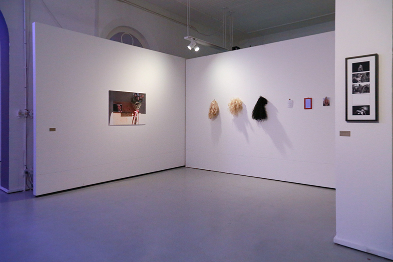 MARILYN MONROY: ONE AND THREE MARILYNS &     IN-CORPORIS POST-MORTEM      Installation     2014