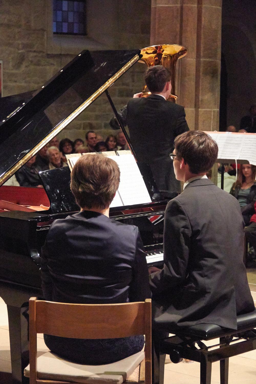 Konzert Fam.Hanke am 01.04.2016 anl.Abschied v. Matthias Hanke