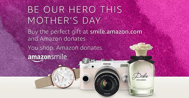 Mother's Day is almost here! We would like to remind everyone as they buy their gifts that they can also show Habitat some love this Mother's Day by shopping through smile.amazon.com