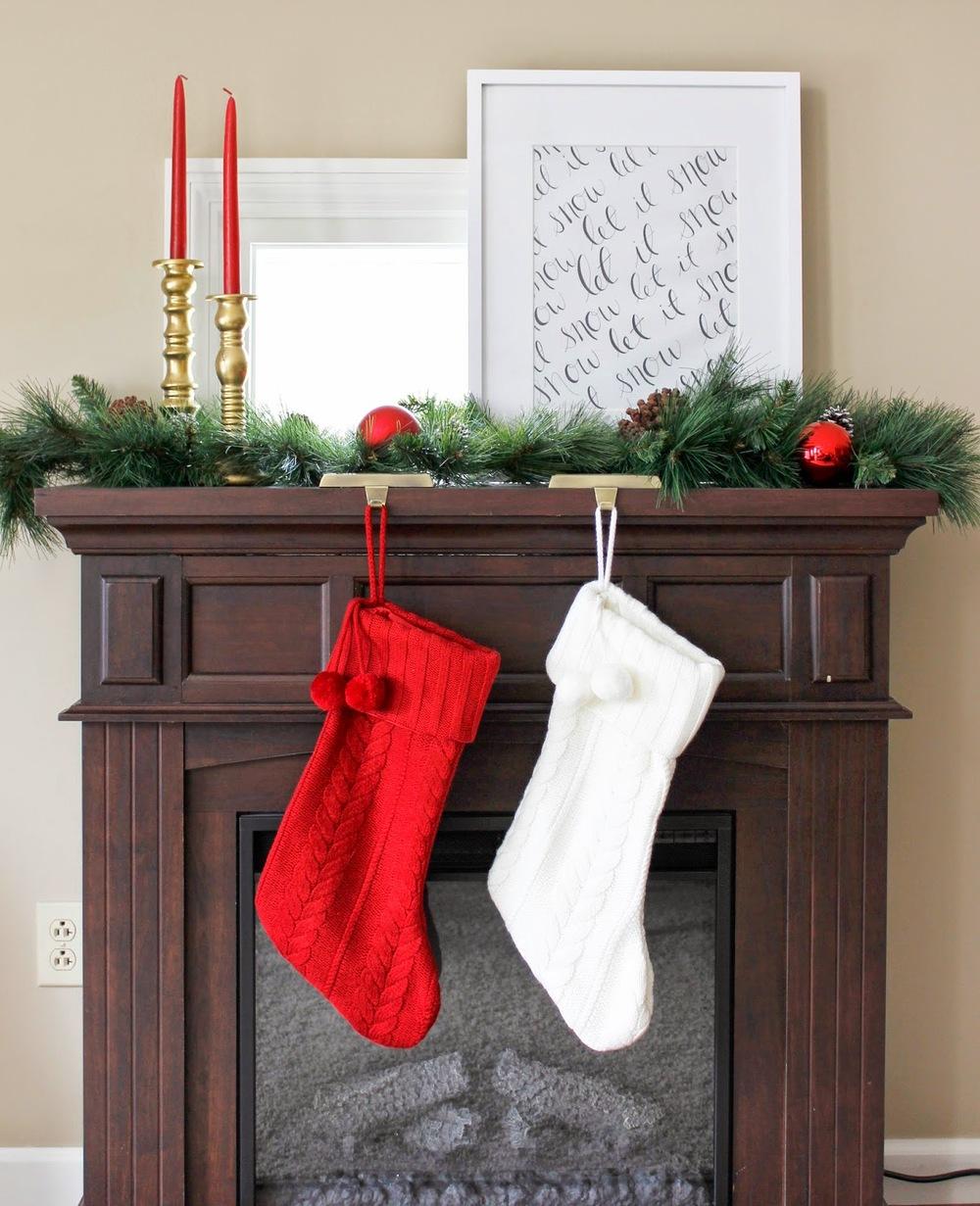 Merry Monday: My Christmas Decor — Two Thirds Hazel
