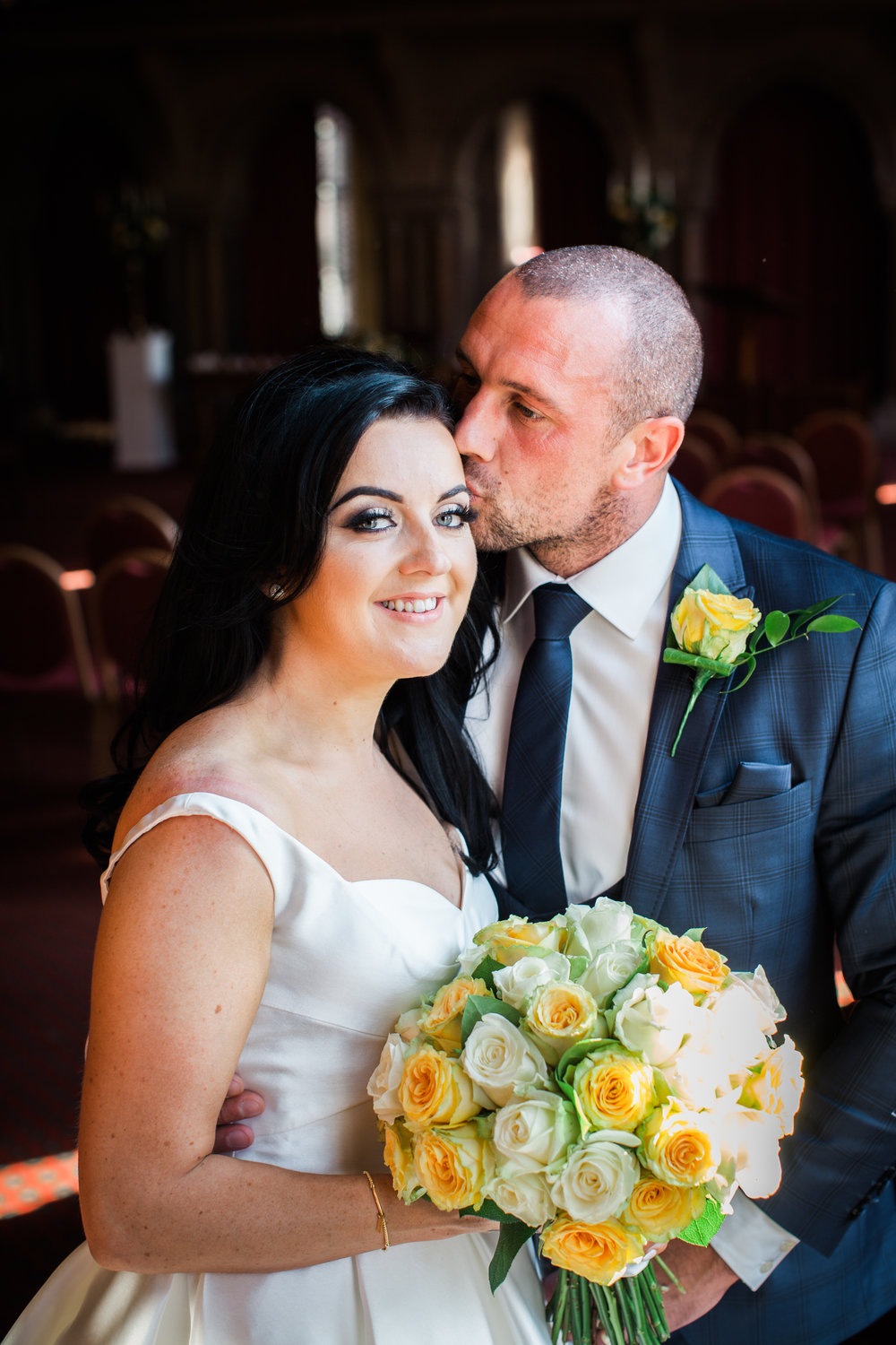 Gary and Danielle - Manchester town hall wedding.