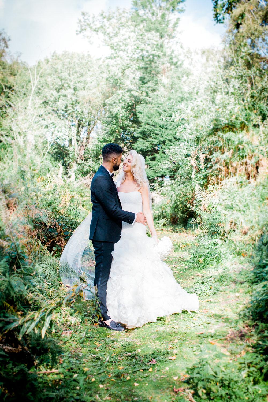 Laura and Thavinda - Late Summer wedding at Peckforton Castle, Cheshire.