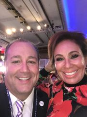 Tim Breaux and Judge Jeanine Pirro (Photo: Tim and Monique Breaux)