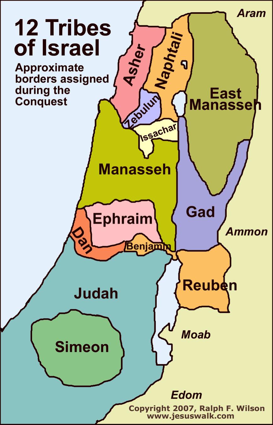 tribesmap