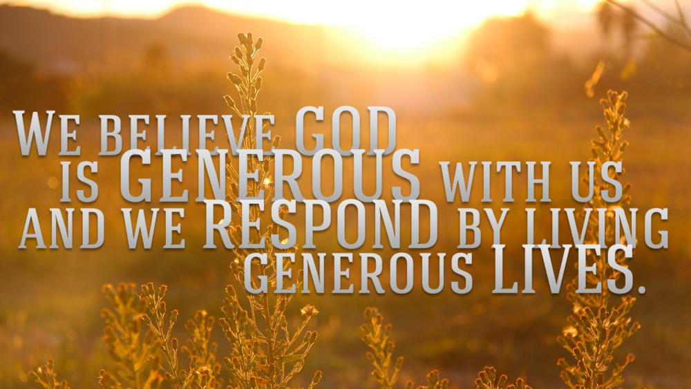 generous lives