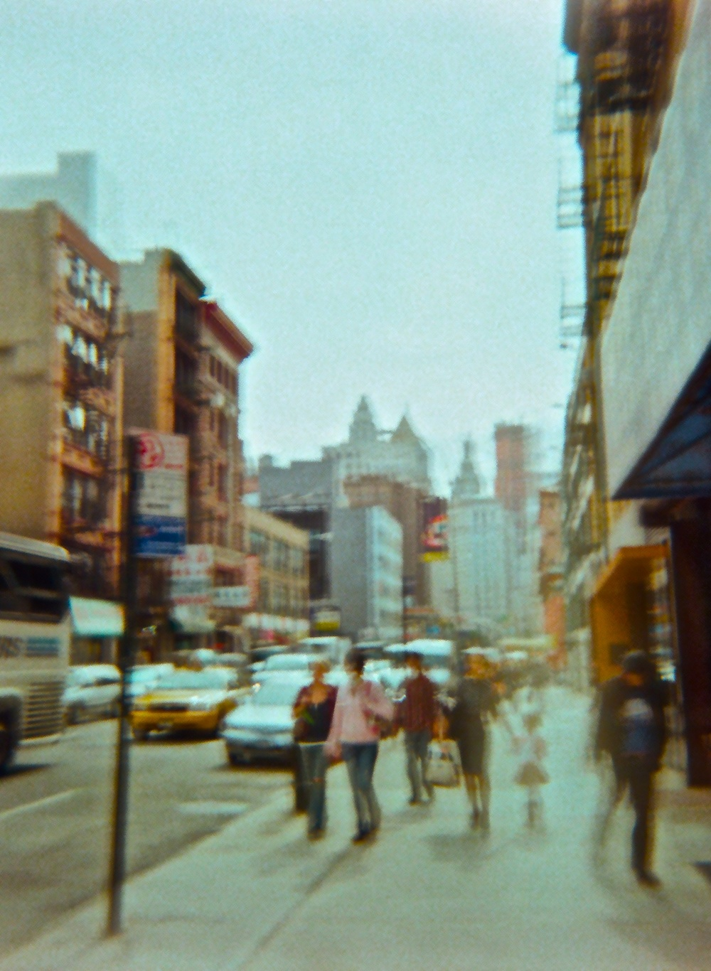 NYC a Blur