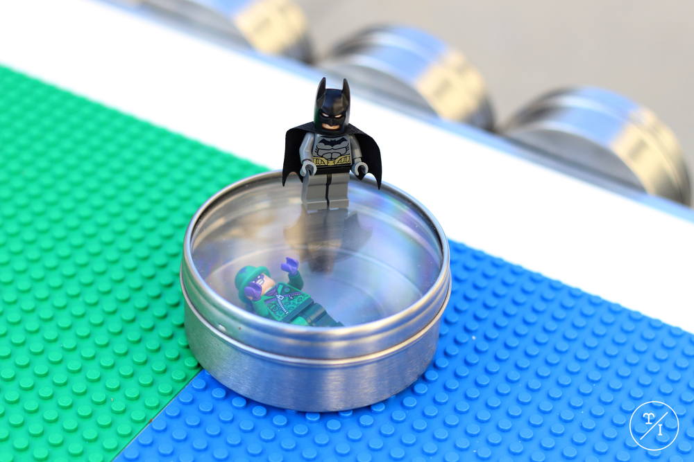 Lego Table Canisters