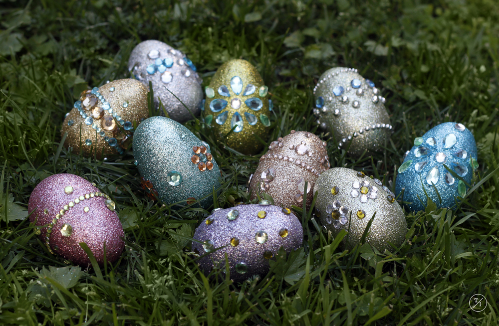 Jewelled Easter Eggs