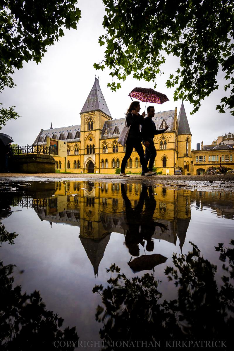 University Museum in the rain