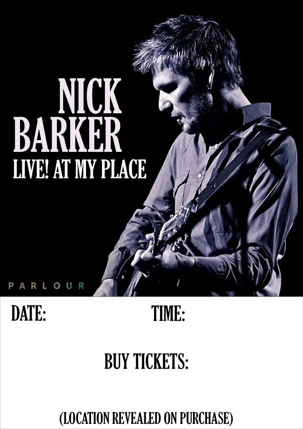 Nick Barker Poster